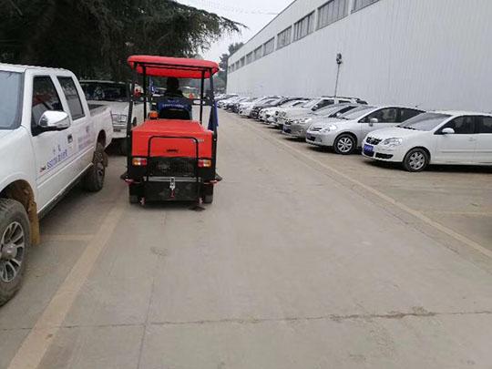 电动扫地车清扫过程中能否有效防止浮尘污染
