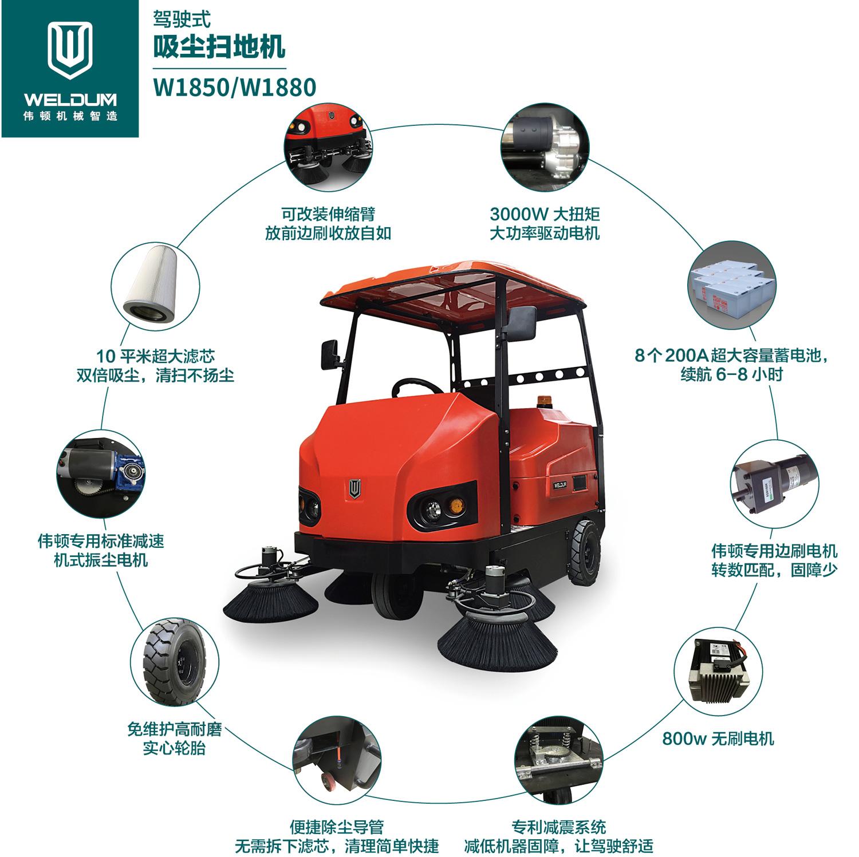 工业扫地车品牌